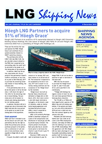 LNG Shipping News - 8 December 2016