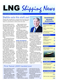 LNG Shipping News - 30 March 2017