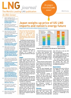 LNG journal 2013 March