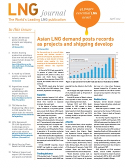 LNG journal 2013 April