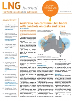 LNG journal 2013 July / August