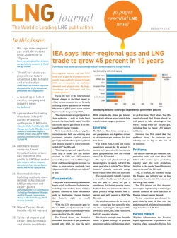 LNG journal January 2017