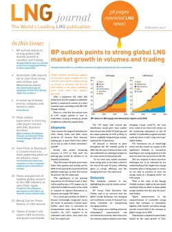 LNG journal February 2017