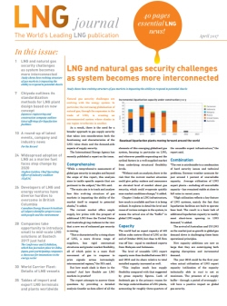 LNG journal April 2017