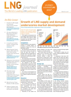 LNG journal 'March 2018