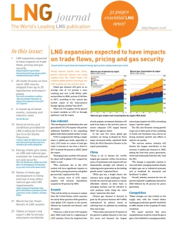 LNG journal 'July / August 2018