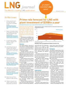 LNG journal January 2019