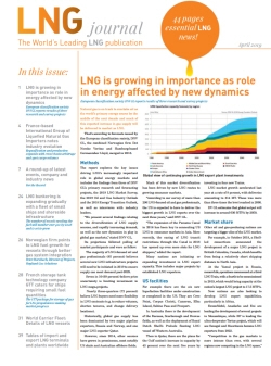 LNG journal April 2019