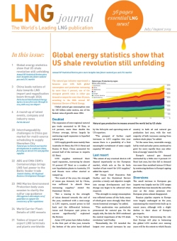 LNG journal 'July / August 2019