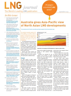 LNG journal September 2019