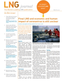 LNG journal March 2020