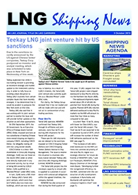 LNG Shipping News - 3 October 2019