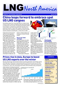 LNG North America – January 2018