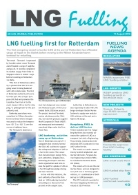 LNG Fuelling - 11 August 2016