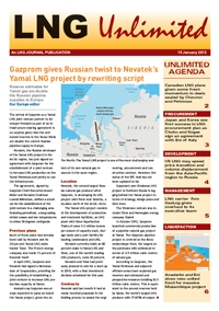 LNG Unlimited - 15 January 2013