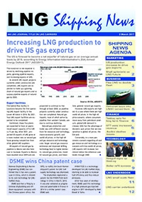 LNG Shipping News - 2 March 2017