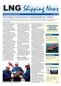 LNG Shipping News - 09 May 2013