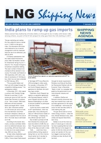 LNG Shipping News - 7 January 2016