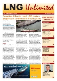 LNG Unlimited - 15 September 2015