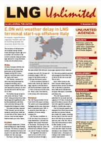 LNG Unlimited - 11 December 2012