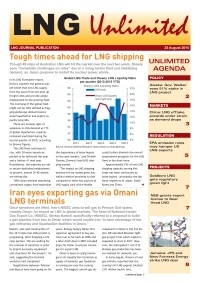 LNG Unlimited - 25 August 2015