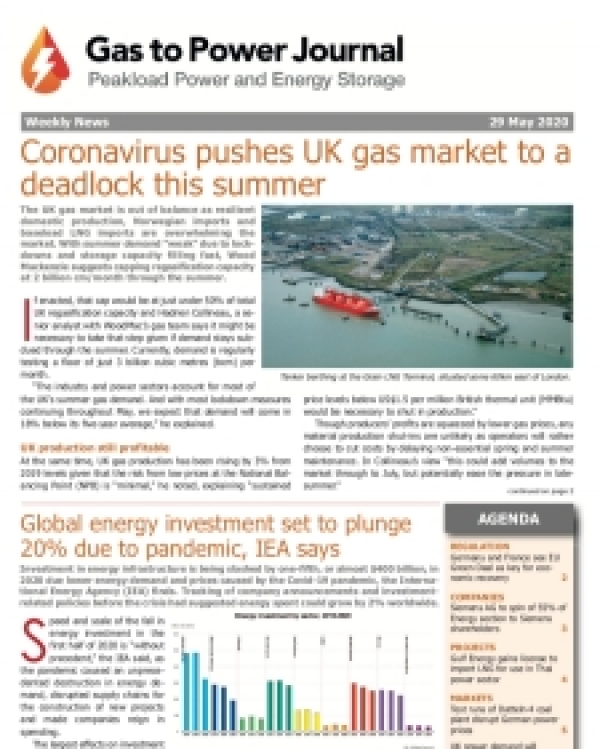 Gas to Power - May 29, 2020