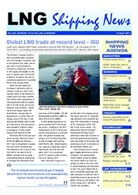 LNG Shipping News - 13 April 2017