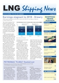 LNG Shipping News - 12 May 2016
