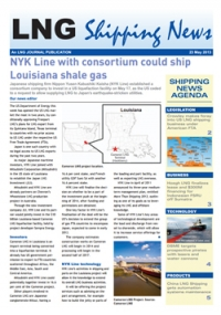 LNG Shipping News - 23 May 2013
