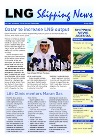 LNG Shipping News - 6 July 2017