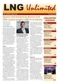 LNG Unlimited - 27 October 2015