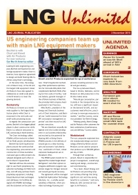 LNG Unlimited - 3 November 2015