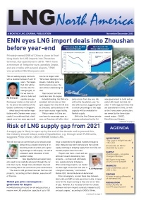 LNG North America - November/December 2015