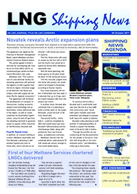 LNG Shipping News - 26 October 2017
