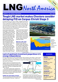 LNG North America – March 2020