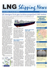 LNG Shipping News - 19 December 2013