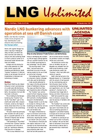 LNG Unlimited – 26 September 2017