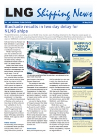 LNG Shipping News - 30 May 2013