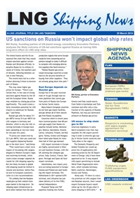 LNG Shipping News - 20 March 2014