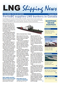 LNG Shipping News - 8 January 2015