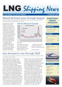 LNG Shipping News - 19 September 2019