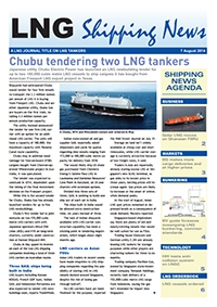 LNG Shipping News - 07 August 2014
