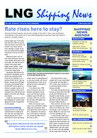 LNG Shipping News - 9 November 2017