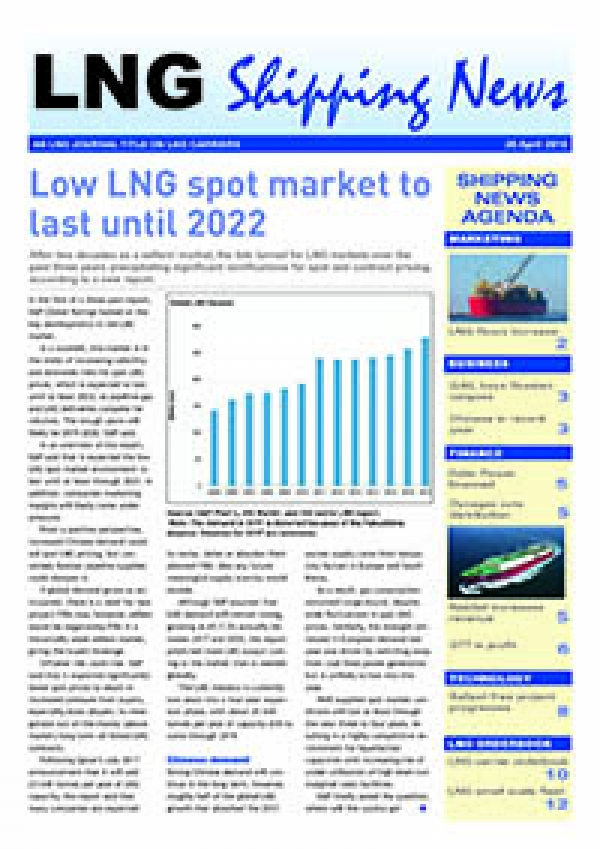 LNG Shipping News - 26 April 2018