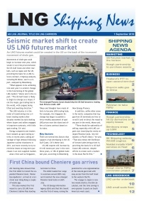 LNG Shipping News - 1 September 2016