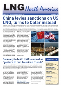 LNG North America – October 2018