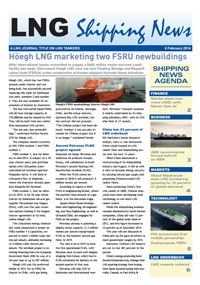 LNG Shipping News - 06 February 2014