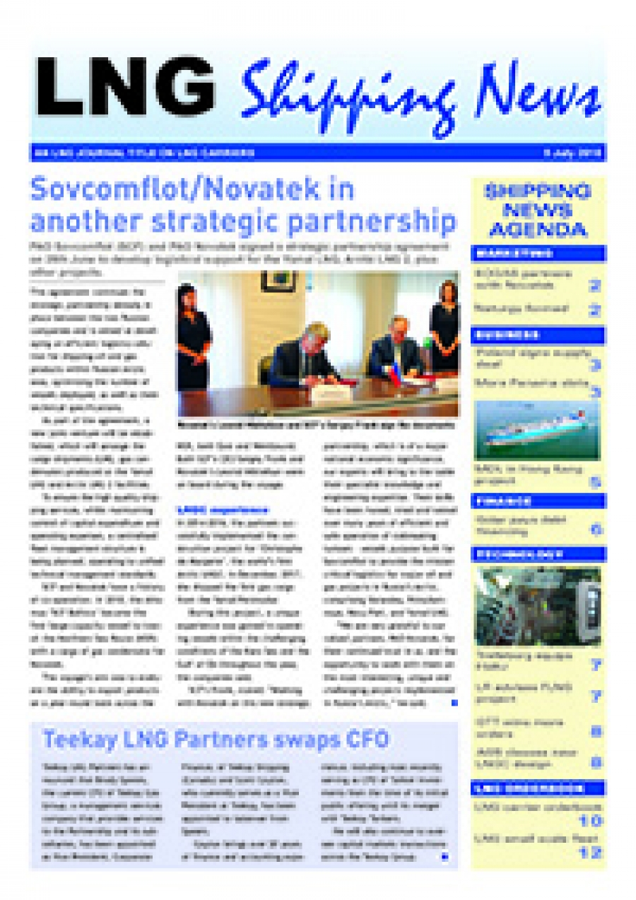 LNG Shipping News - 5 July 2018