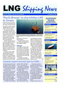LNG Shipping News - 14 September 2017