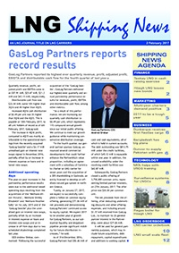 LNG Shipping News - 2 February 2017